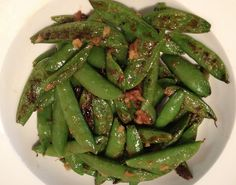 quite sublime: Sublime Eats: Skinny Bitch Roasted Sugar Snap Peas - A Completely Guilt Free Treat