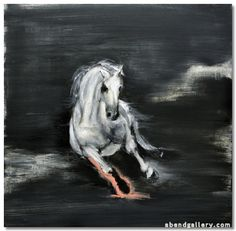 "Michael Dowling | ""Untitled"" I Oil, 30 x 30"""