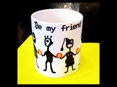 Be my Friend :) Art - Mug:http://helenkholin.com/be-my-friend-art-mug/