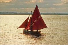 B093 Galway Hooker DUN Inver Fishing Cargo Boat Ireland Photo | eBay