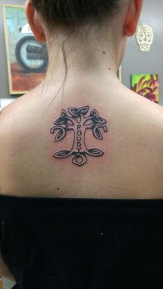 My first. Ode to my family with the celtic family tree.