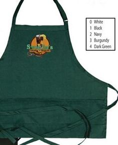 3 Pocket Embroidered Body Apron
