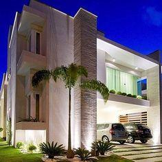 Projeto Cypriana Pinheiro #assimeugosto #casa #fachada #arquitetura