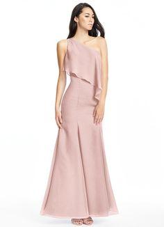 AZAZIE NADIA. Nadia is our floor-length gown in a trumpet/mermaid cut. #Bridesmaid #Wedding #CustomDresses #AZAZIE
