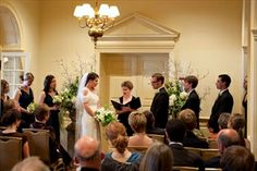 Exeter Inn indoor wedding ceremony