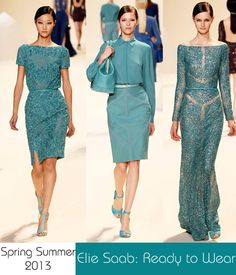 Elie Saab: Ready-to-wear 2013 Spring Summer collection