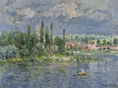 Claude Monet Vétheuil - The Largest Art reproductions Center In Our website. Low Wholesale Prices Great Pricing Quality Hand paintings for saleClaude Monet Renoir, Claude Monet, Monet Paintings, Landscape Paintings, Vincent Van Gogh, Artist Monet, Art Japonais, Paul Cezanne, Impressionist Paintings