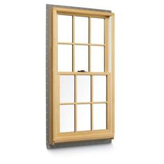 70 double hung buck windows 32 in x 38 in white with for American craftsman windows
