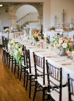 #tablescapes, #chair  Photography: Taylor Lord - www.taylorlord.com  Read More: http://www.stylemepretty.com/2014/06/03/timeless-austin-wedding-at-chateau-bellevue/