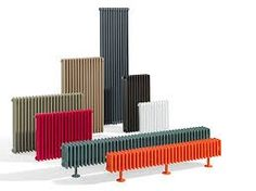 Column radiators in yet more colours Painted Radiator, Column Radiators, Designer Radiator, Towel Warmer, Radiator Cover, House Inside, Home Decor Furniture, Bookends, New Homes