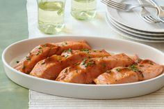 Maple-Balsamic Salmon Fillets recipe