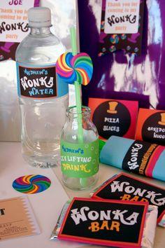 Willy Wonka Birthday DIY Printable Kit by CreativeLittleStars