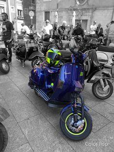 Vespa Px 200, Custom Vespa, Vespa Sprint, Scooters, Dan, Racing, Classic, Blue, Instagram
