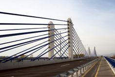 Homeland Bridge is a 840 meters (2,756 ft) long bridge over Sava River located in southeastern Zagreb, Croatia
