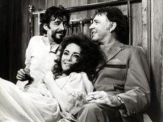 Peter O'Toole , Elizabeth Taylor & Richard Burton Credit: Keith Hamshere/Getty 1960s