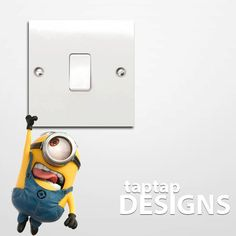 Hanging Minion Despicable Me Full Colour Light by taptapdesigns, £3.99