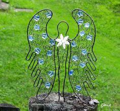 Andělka v modré