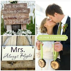 Simple Rustic Wedding Ideas | Easy Rustic Wedding Reception Ideas MRS ALWAYS RIGHT