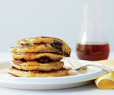 The Delicious Power of Yogurt: Have it at Breakfast (And Not The Way You Think!) (via Parents.com) recipe for blueberry orange pancakes...