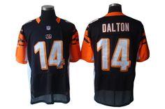 Nike Bengals Andy Dalton Black Team Color Men s Stitched NFL Elite Jersey  And nfl jersey nz aaeec8a1e