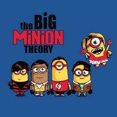 Big Minion Theory...Bazinga!!