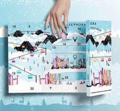 calendrier de l'avent beauté 2015 - Sephora