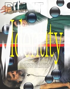 Rejected PRINT cover ca. 2011—featuring Zizek & Gaga.