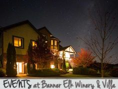 5 TIPS TO PLAN SUCCESSFUL EVENTS  Events at Banner      Elk Winery & Villa