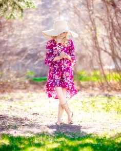 Patricia's Boho High Low Top + Dress | The Simple Life Pattern Company | Download pdf sewing pattern and start making beautiful, girls' clothes