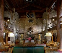 Giant City Lodge, Southern Illinois (Love it here! They have the best fried chicken!)