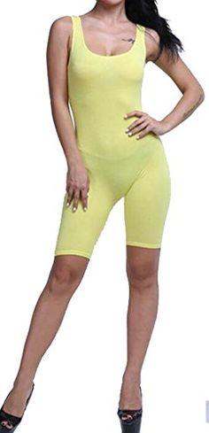 WSPLYSPJY Womens V Neck Sleeveless Wide Leg Split Bodycon Jumpsuit Clubwear