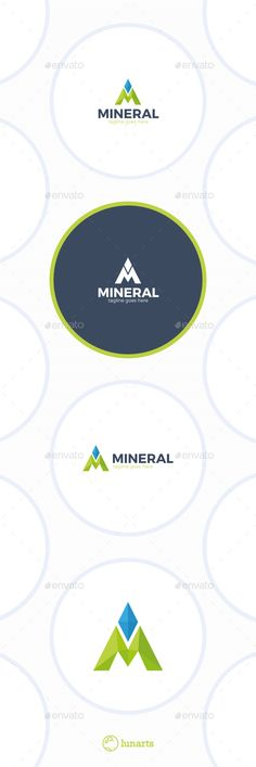 Mineral Logo - Letter M - Letters Logo Templates