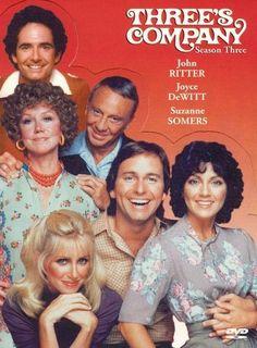 Three's Company, with John Ritter, Suzanne Somers 80 Tv Shows, Old Shows, Great Tv Shows, 1970s Tv Shows, Suzanne Somers, Priscilla Barnes, Alexander Ludwig, Katheryn Winnick, Film Movie