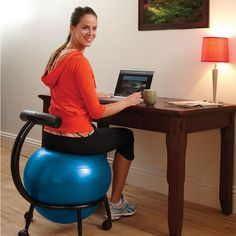 31 best active sitting images ball chair exercise ball yoga rh pinterest com
