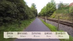Cycling from Bath to Bristol along the Two Tunnels and Railway Cycle Paths