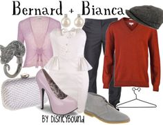 I love she included some of the less popular Disney movies:) Bianca and Bernard are some of my favorites