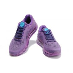 Nike Air Max 2014 Womens Purple Shoes found on Polyvore