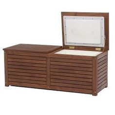 Hardwood Timber Double Ice Box Cooler Esky