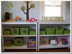 Future classroom organization or children's play room!