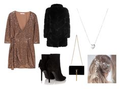 """""""Untitled #102"""" by heta-makinen on Polyvore featuring MANGO, Yves Saint Laurent, Yves Salomon and Links of London"""