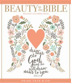 Paige Tate Select Beauty in the Bible: Adult Coloring Book Volume 1 Premium Edition