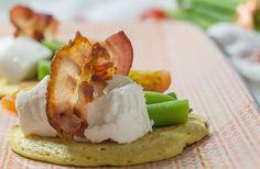 Rezept: Socca mit grünen Bohnen, Picandou und Bacon | www.reisehappen.de