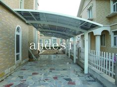 T joint carport with 5.5m*11m *3m.