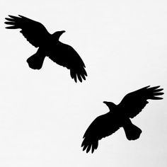 raven crowing mystical bird flying raven mystical crows flying bird T-Shirts Black Crow Tattoos, Grey Ink Tattoos, Small Bird Tattoos, Ankle Tattoo Small, Small Tattoo Designs, Cute Tattoos, Body Art Tattoos, Ankle Tattoos, Arrow Tattoos