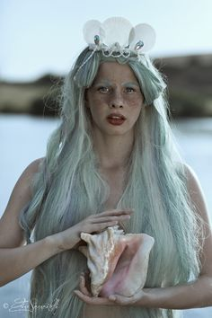 "Beyond The Sea - elisascascitelli:   ""Birth of a Mermaid""   © All..."