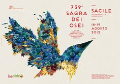 Sagra-dei-Osei-Poster-Illustration-and-Design-435463.jpg (600×420)