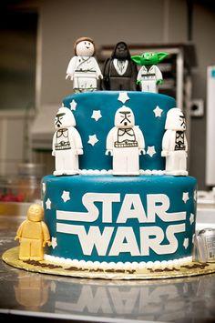Kyle's Star Wars cake