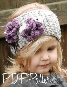Knitting PATTERNThe Indiya Warmer Toddler Child by Thevelvetacorn, $5.50