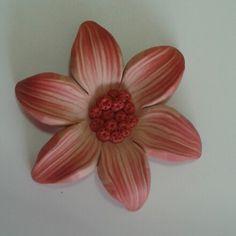Fiore in fimo