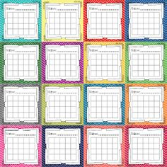 Crystal's Classroom: Incentive Charts